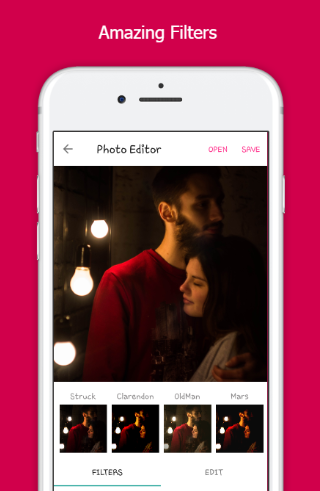 Photo B612 - Couple Photo Editor & Effects 1.0 screenshots 2
