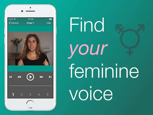 Christella VoiceUp - Feminize your voice 6.5.1 Screenshots 1