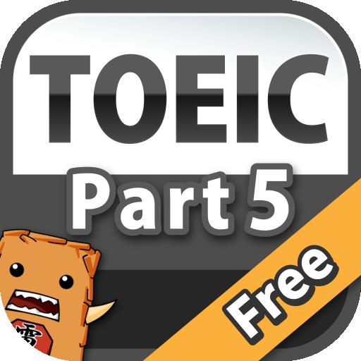 Toeic Part5 Free問題集!無料で英語!? from 英語物語 file APK Free for PC, smart TV Download
