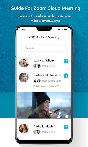 Guide for ZOOM Cloud Meetings Video Conferences screenshot 7