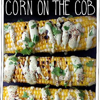 Creamy Cilantro Lime Corn on the Cob.