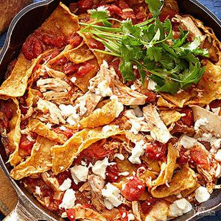 Tortilla-Chicken Skillet Casserole