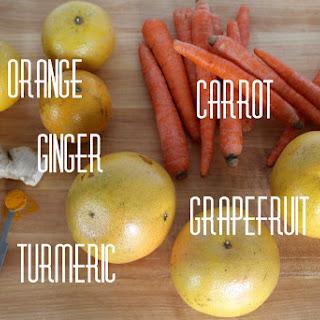 Orange Grapefruit Carrot Ginger Turmeric Juice