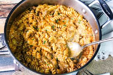 Homemade Cheesy Italian Hamburger Helper