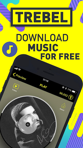 TREBEL Free Music - Unlimited Music Downloader App 4.2.2 screenshots 1