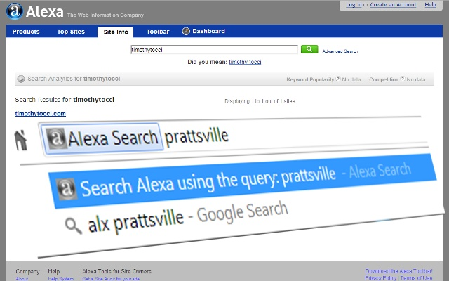 Alexa Search