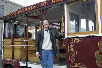 Photo: Me on a cable car