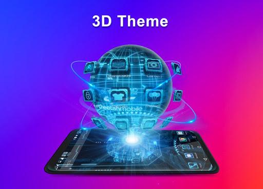 CM Launcher 3D - Theme, Wallpapers, Efficient 5.39.1 screenshots 2