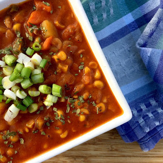 The Easiest Vegetable Bean Soup.