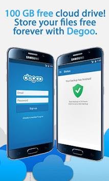 100 GB Free Cloud Drive from Degoo