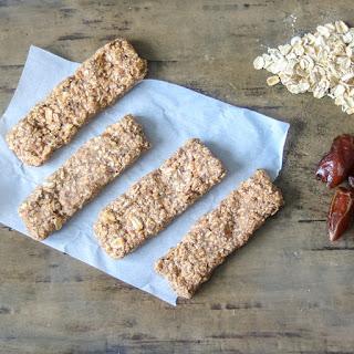 Gluten Free No Bake Granola Bars.