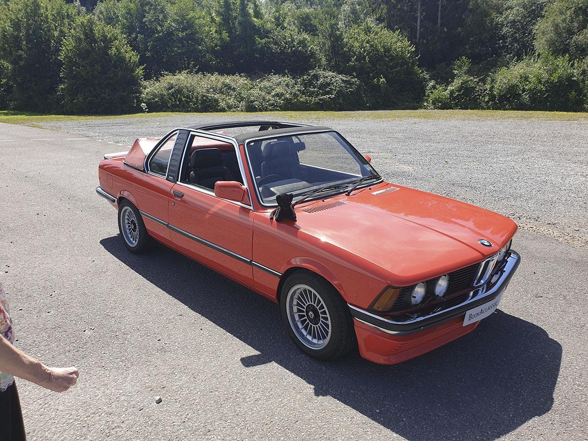 BMW  E21 323i Hire Cardiff