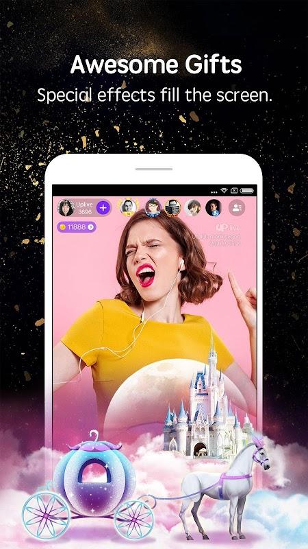 Uplive - Live Video Streaming App screenshots