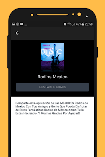 Radios de Mexico music player online for free - náhled