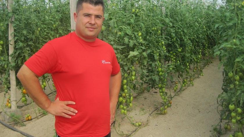 """Jose María Salvador, un agricultor de \""""los de verdad\""""."""
