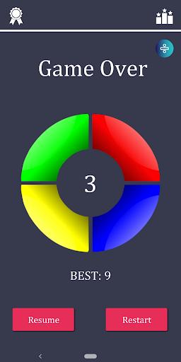 Télécharger Memory Challenge (Simon says) apk mod screenshots 4