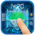 Sci-Fi Style Fingerprint Lock Screen icon