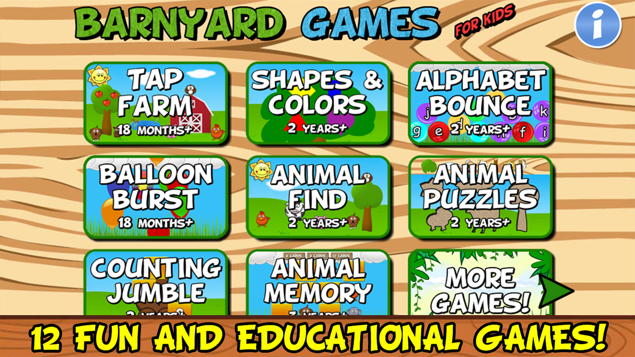 Barnyard Games For Kids Free- screenshot
