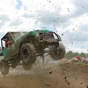 jump up by Bobby Worotikan - Sports & Fitness Motorsports ( jeep, sport )