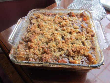 JAMIE'S FALL SURPRISE CRUMBLE Recipe