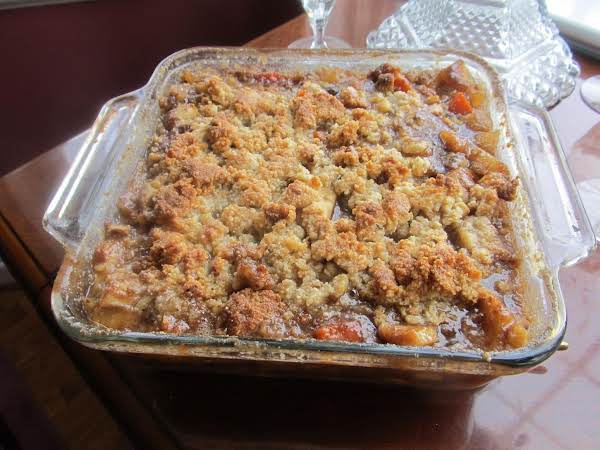 Jamie's Fall Surprise Crumble