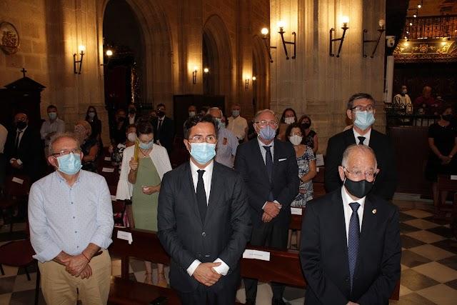 Los alcaldes de Vícar, El Ejido, Roquetas de Mar y Adra y el presidente de la Autoridad Portuaria.