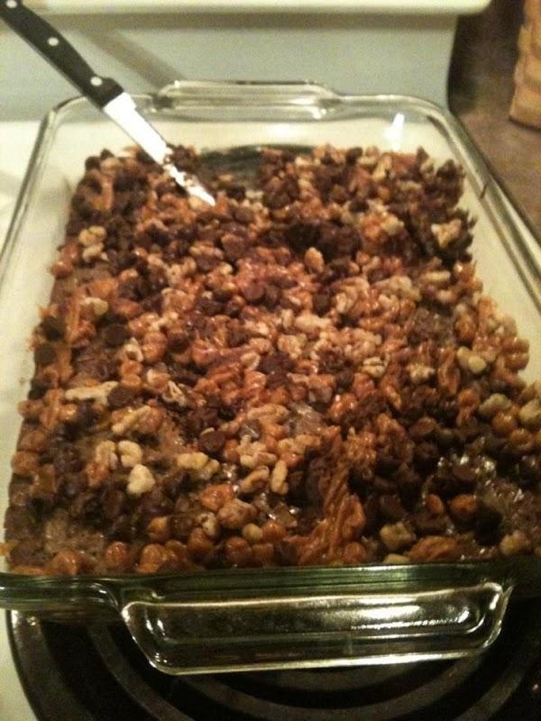Carmel Brownie Delite Recipe