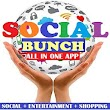SocialBunch : All Social Media Network in One App icon