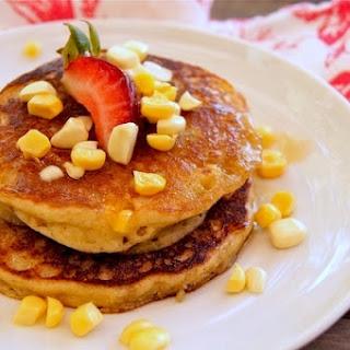 Fresh Corn Cardamom Pancakes {Gluten-Free Recipe}