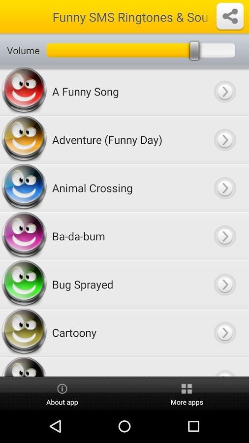 Funny cartoon text tones