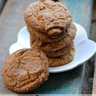 Chewy Gingerbread Cookies (from Cake Mix & Cool Whip!)