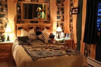 Photo: Guide's Cabin has a cozy queen bed