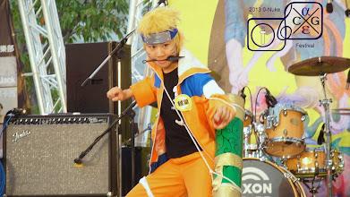 Photo: Naruto-style.