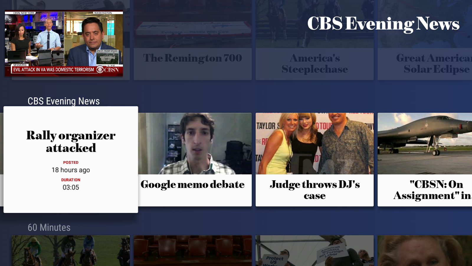 CBS News - Live Breaking News- screenshot