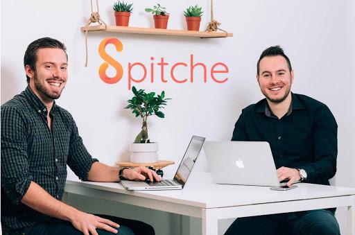 Matthieu et Kevin, 2 des co-fondateurs de SPITCHE