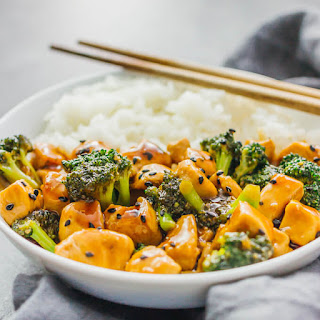 Fast Teriyaki Chicken Bowl with Broccoli and Rice Recipe