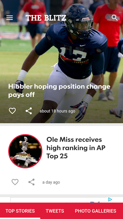 Ole Miss Blitz- screenshot