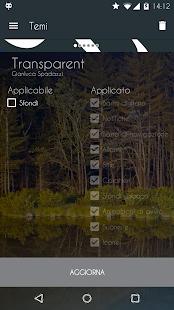 Transparent - CM12/12.1 Theme- screenshot thumbnail
