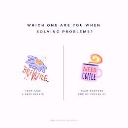 Coffee or Breath - Instagram Post item