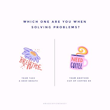 Coffee or Breath - Instagram Post Template