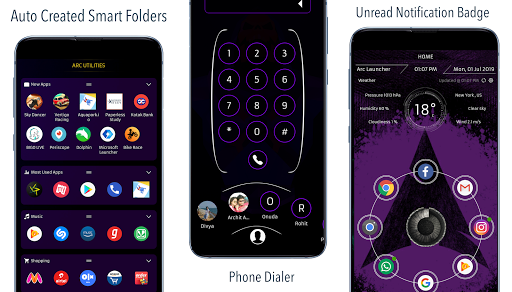 ARC Launcheru00ae 2019: 3D Launcher & Theme | App Lock 20.8 screenshots 2