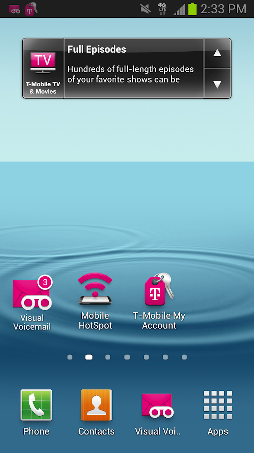 T-Mobile Visual Voicemail- screenshot