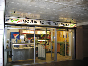 Photo: Our favourite pizza place is still there (I'll have a small Hawaiian)