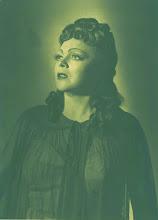 """Photo: Martha MÖDLs Geburtstag jährt sich am 22.3.2012 zum 100. Mal. Unser Foto zeigt sie als """"Kundry"""" in PARSIFAL  1953 in Marseille."""
