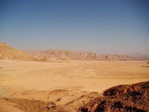 Photo: Le désert du Sinaï en Egypte