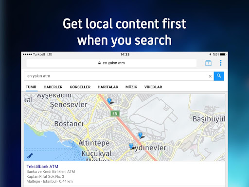 Yaani : Turkey's Search Engine & Browser for PC