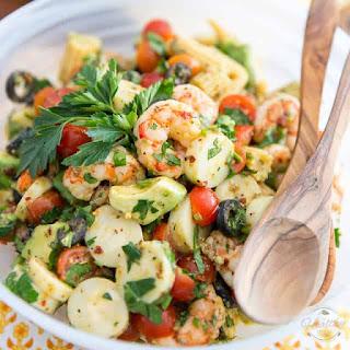 Simple Cold Shrimp Salad Recipe