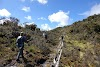 Indonesia. Papua Baliem Valley Trekking. Hiking the high plateau on the way to Beligama