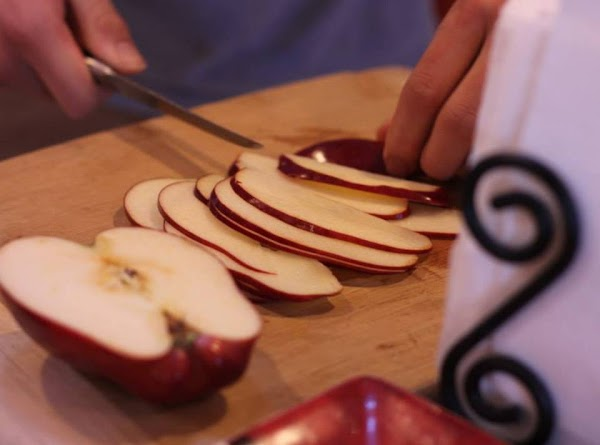 Preparing the Roses   1. Thinly slice apples with a mandolin or knife, the thinner the...