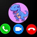 Fake Call From Dinosaur Trex Prank Simulator icon